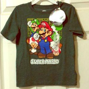 NWT 3t Super Mario T-shirt